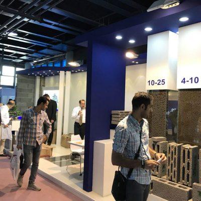 موفقیت در نمایشگاه ساختمان